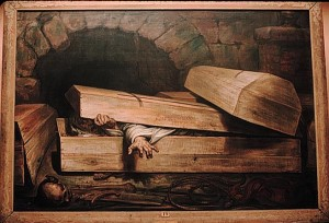 The Premature Burial by Antoine Wiertz; 1854