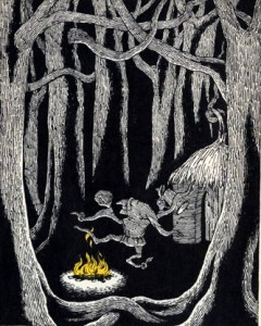 Rumpelstiltskin Illustration by Edward Gorey
